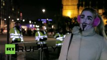 UK_ Thousands of protesters demand change at Houses of Parliament_(360p)