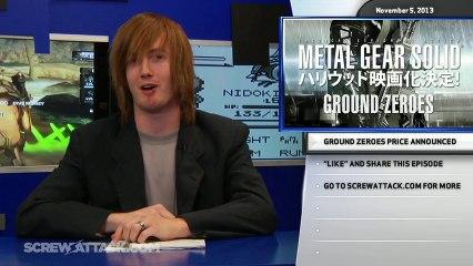 Killer Instinct leak, PSPlus games, and MGS5 price announced - Hard News 11/05/13 - ScrewAttack - Hard News Clip