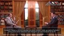 Syrie  Interview de Bachar Al-Assad sur Colin Powell, Jacques Chirac et le terrorisme en Irak