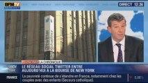 La Chronique éco de Nicolas Doze: twitter entre en bourse à Wall Street - 07/11