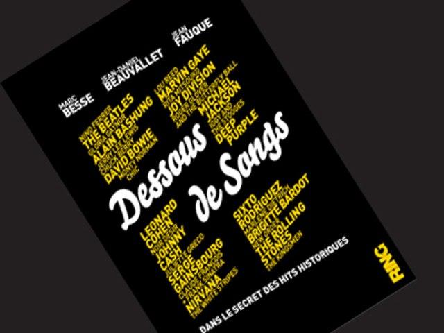 Backstage de la promotion Dessous de Songs (Marc Besse, Jean Daniel Beauvallet, Jean Fauque)