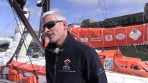 How do the singlehanded skippers avoid the collisions at sea?  - IMOCA 60 boats