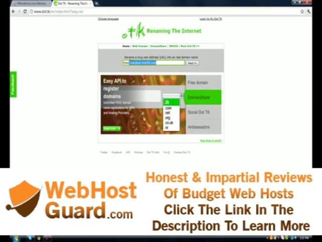 Free Website Hosting