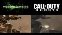 Call of Duty : Ghosts Copier/Coller de Modern Warfare 2