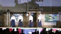 Aïki goshin do Takeda ryu Maroto ha Michel Hennequin et Olivier Demaret la grande nuit des samouraïs fréthun 27 mars 2010
