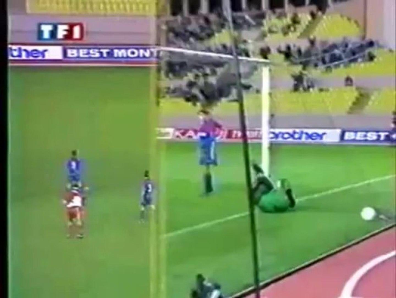 AS Monaco v. Steaua Bucureşti 20.10. 1993 Champions League 1993/1994