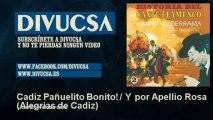 Juanito Valderrama - Cadiz Pañuelito Bonito! / Y por Apellio Rosa - Alegrias de Cadiz