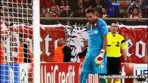 Casillas (Real Madrid) vs Roberto (Olympiakos)