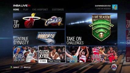 Official LIVE Season & CourtQ Trailer de NBA Live 14