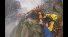 Dramatic Rescue of Submerged Kayaker