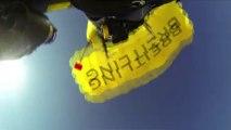 """Spektakulär: """"Jetman"""" umfliegt japanischen Berg Fuji"""