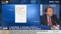 """BFM Story: 11 novembre: Hollande appelle à """"ne rien laisser passer face aux haines"""" - 11/11"""