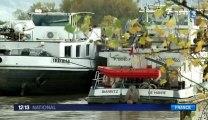 La Seine en crue : inondations en Ile-de-France