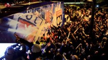 Après le derby, les supporters lyonnais accueillent leurs champions