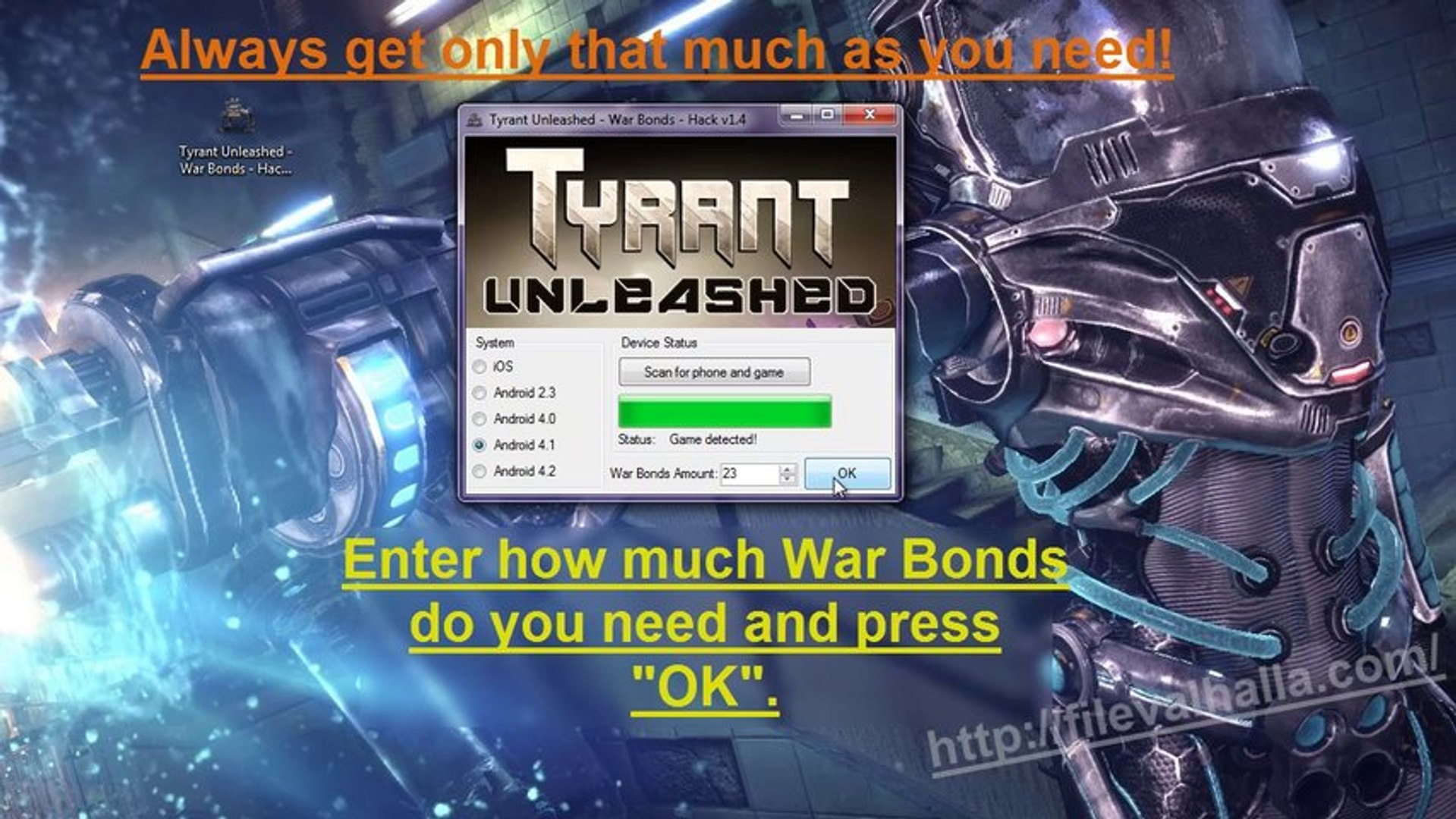 Tyrant Unleashed - War Bonds Hack - how to get War Bonds for free? [iOS/Android]