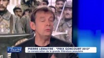 """Pierre LEMAITRE: """"Le Goncourt a déja transformé ma vie"""""""