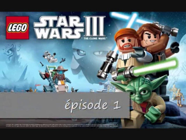 Lego star wars 3 the clone wars mode histoire épisode 1