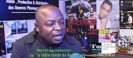 La réaction des Combattants sur la Politique Congolaise
