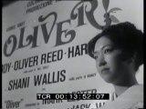 """""""Oliver"""". Serata di gala in un grande cinema romano per l'anteprima italiana di 'Oliver!'  il film di O. Reed ricavato da Oliver Twist. La serata è stata promossa dall'Unicef"""