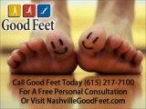 Nashville Good Feet Customer Finds Plantar Fasciitis Foot Pain Relief With Good Feet Orthotics