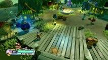 Skylanders Swap Force Gameplay Walkthrough - Part 7 - FISHING FOR UPGRADES! (Skylanders Gameplay HD)