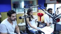 Madras Cafe Team at Radio City (91.1) Fm _ John Abraham, Nargis Fakhri, Shoojit Sircar