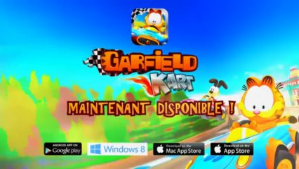 GARFIELD KART - TRAILER - FR - IOS ANDROID PC MAC - MICROIDS GAMES FOR ALL