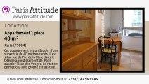 Appartement Studio à louer - Bastille, Paris - Ref. 2232