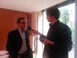 Interview de Pierre Hurmic suite au vote des militants écologistes d'EELV en faveur d'une liste commune avec le candidat du PS Vincent Feltesse à Bordeaux
