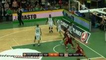 Highlights: Stelmet Zielona Gora-Galatasaray Liv Hospital Istanbul
