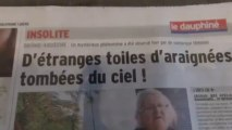 CHEMTRAILS Drôme et Ardèche_Une Expérience sur les Populations à Ciel Ouvert_Mystérieux Filaments du ciel