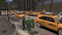 Grand Theft Auto IV - Incredible Hulk MOD