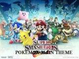Super smash bros brawl (pokemon) pokémon main thème
