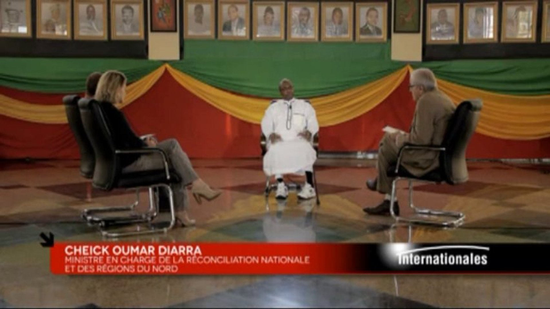 Internationales - Cheickh Oumar Diarrah - 10/11/2013