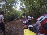 Balade moto off-road avec baignade du 600 XLM