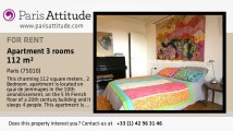 2 Bedroom Apartment for rent - Canal St Martin, Paris - Ref. 6840