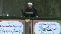 "Rouhani says Iran rejects threats, cites ""red lines"" in nuclear talks"