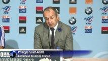 Rugby: la France déçue après sa défaite face aux All Blacks