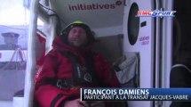 Voile / Transat Jacques Vabre / Quand François Damiens est mauvais joueur / 10-11