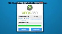 ▶ Xbox Live Gratuit - Generateur de code Xbox Live [lien description] (Novembre 2013)
