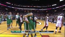Jeff Greens hits an AMAZING THREE POINTER at the BUZZER!