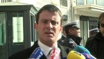 "11 novembre: manifestants ""d'extrême droite"", selon Valls"