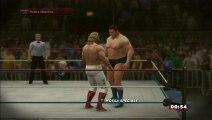 WWE 2K14 -  GAMEPLAY IT -  Andre The Giant vs Big John Studd