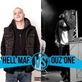 OUZ ONE vs HELL MAF // BEATMAKER CONTEST (1/4 finale)