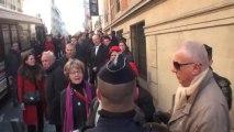 Paris (France) 11/11/2013 Incident sur les Champs Elysees, 73 interpellations