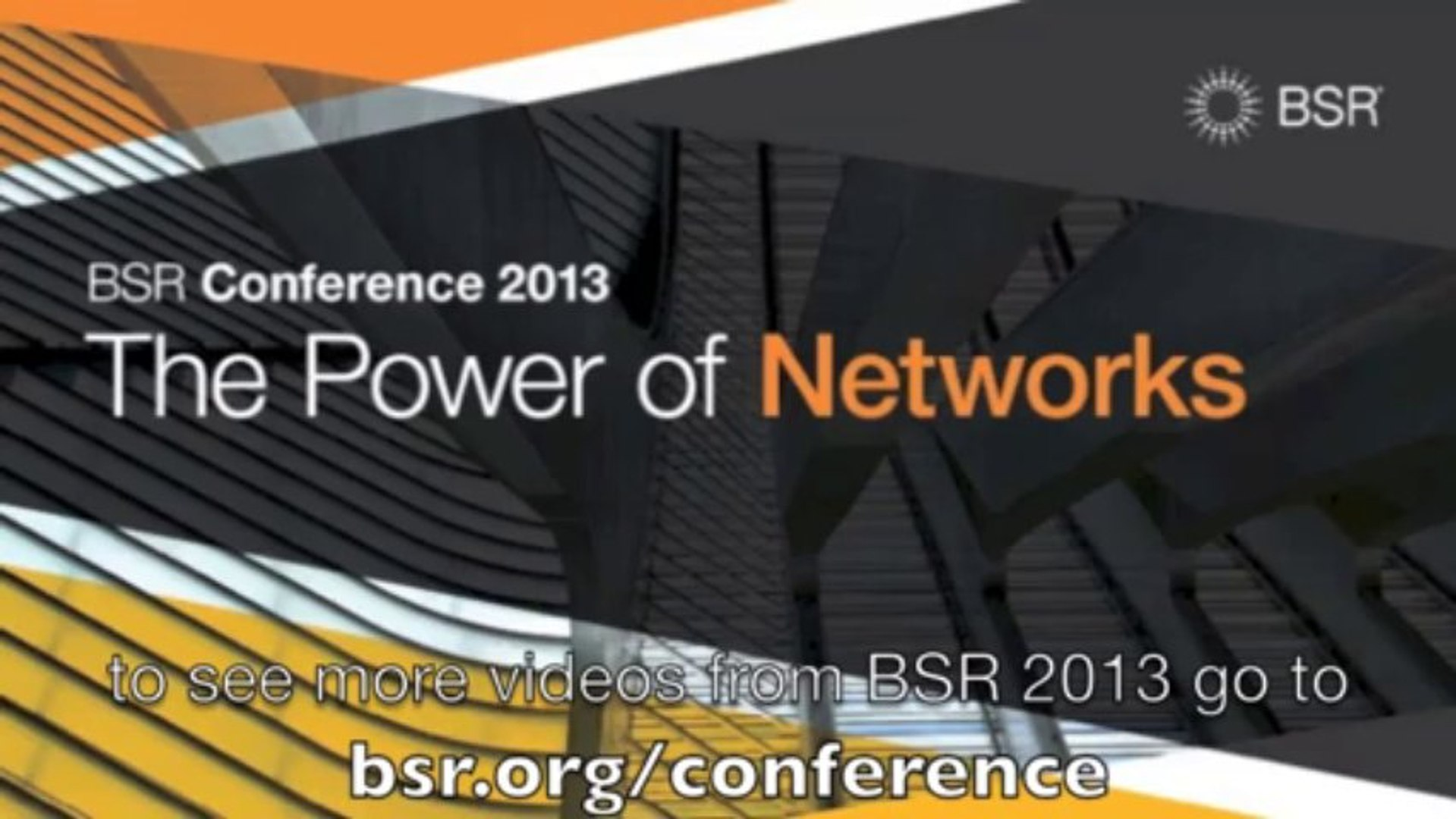 BSR Conference 2013 – Networks as Reality Check: Mary Robinson, President, Mary Robinson Foundation