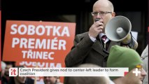 Czech President Gives Nod To Center-left Leader To Form Coalition