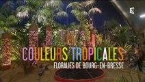 Emission spéciale Floralies de Bourg-en-Bresse