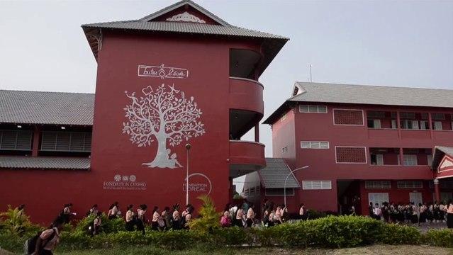 Rentrée au collège Happy Chandara