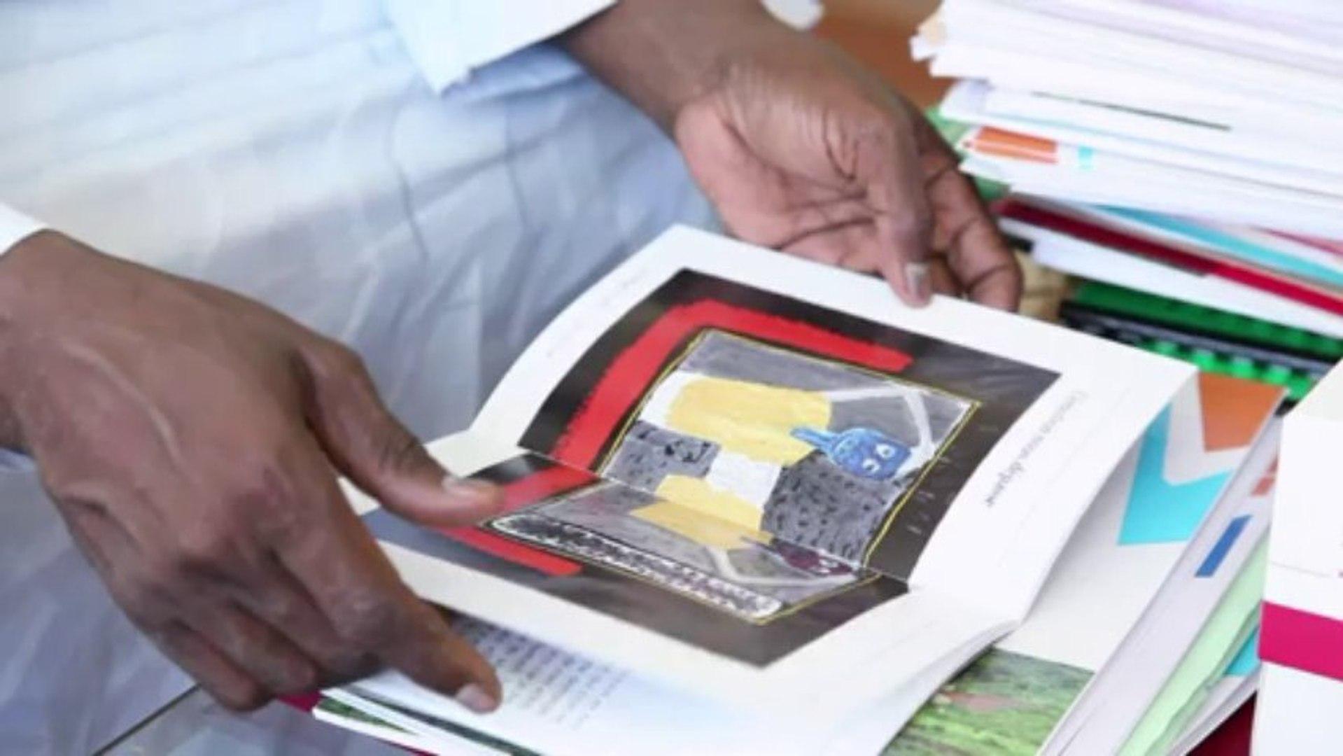 Mali : portrait du peintre Amadou Sanogo